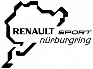Autocolante - Renault Sport Norburgring