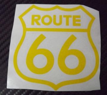 Autocolante - Route 66