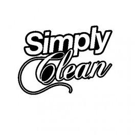 Autocolante - Simply Clean
