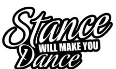 Autocolante -  Stance will make you dance