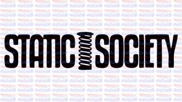 Autocolante - Static Society
