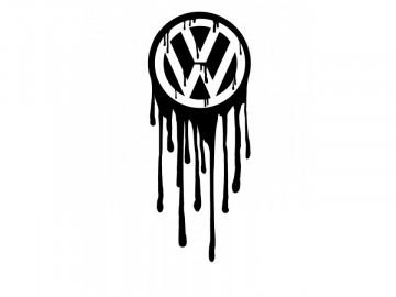 Autocolante - Volkswagen mancha