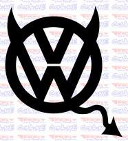 Autocolante - VW DIABO