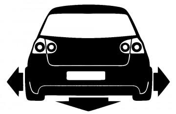 Autocolante  VW Golf 5