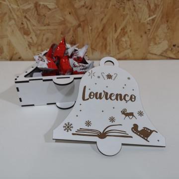 Caixa Para Chocolates / Guarda Joias - Sino