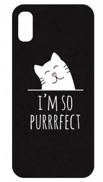 Capa de telemóvel com I'm So Purrrfect