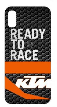 Capa de telemóvel com KTM - Ready to race