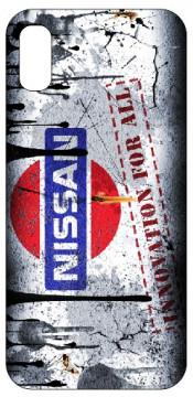 Capa de telemóvel com Nissan - Retro