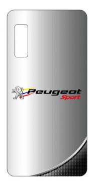 Capa de telemóvel com Peugeot Sport