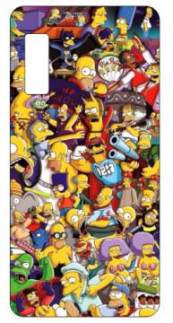 Capa de telemóvel com Simpson