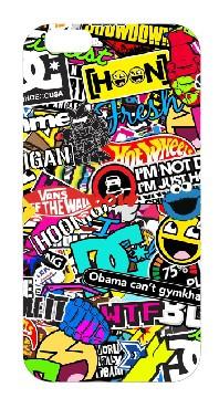 Capa de telemóvel com Sticker bomb