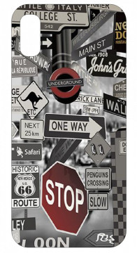Capa de telemóvel com Stop