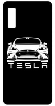 Capa de telemóvel com Tesla Model S