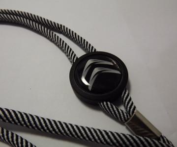 Fita Porta Chaves (lanyard) de Pescoço Ajustável para Citroen