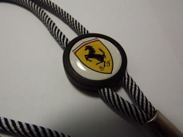 Fita Porta Chaves (lanyard) de Pescoço Ajustável para Ferrari