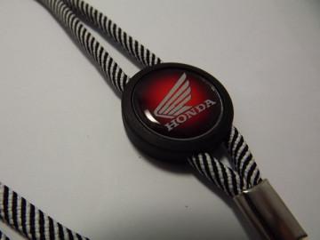 Fita Porta Chaves (lanyard) de Pescoço Ajustável para Honda ( Mota)