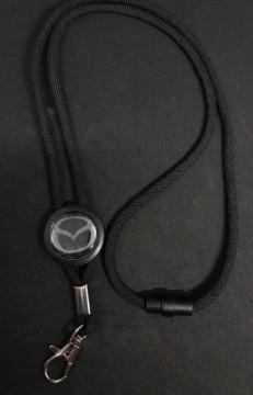 Fita Porta Chaves (lanyard) de Pescoço Ajustável para Mazda
