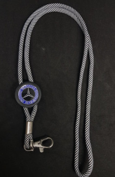 Fita Porta Chaves (lanyard) de Pescoço Ajustável para Mercedes Benz