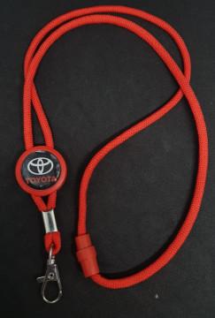 Fita Porta Chaves (lanyard) de Pescoço Ajustável para Toyota