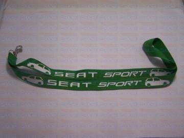 Fita Porta Chaves - Seat Sport 6K