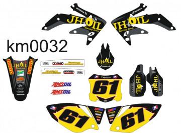Kit Autocolantes Para Honda CRF 450 -05-08