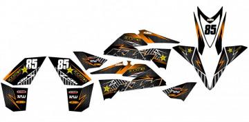 Kit Autocolantes Para KTM 525 XC