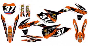 Kit Autocolantes Para KTM SX 13-15