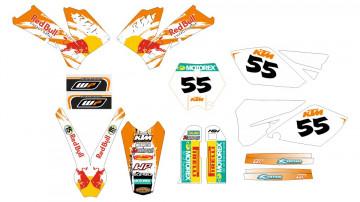 Kit Autocolantes Para ktm sx / mx 04-06