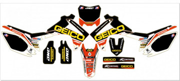 Kit Autocolantes Para Moto - HONDA CRF (250 14-15),  (450 13-15)  GEICO