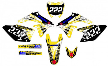 Kit Autocolantes Para Moto - Suzuki RMZ 450 08-17