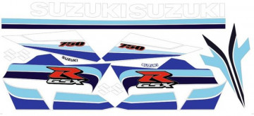 Kit Autocolantes Para Suzuki GSXR 750