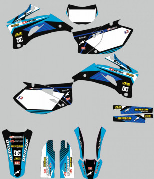 Kit Autocolantes Para YAMAHA WRF 450 07-11
