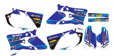 Kit Autocolantes Para  Yamaha YZF 250 450 03-05