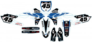 Kit Autocolantes Para Yamaha YZF 250 450 14-17