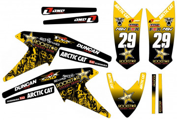 Kit de autocolantes para Artic Cat DVX 400