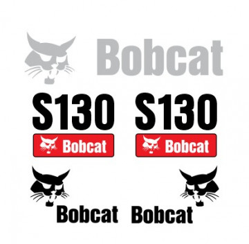 Kit de Autocolantes para BobCat S130