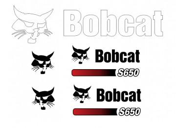 Kit de Autocolantes para BobCat S650