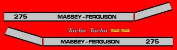 Kit de Autocolantes para Massey Ferguson 275