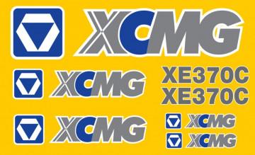 Kit de Autocolantes para XCMG XE370C