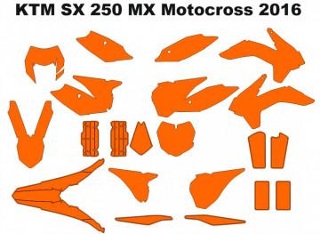 KTM SX 250 MX Motocross 2016