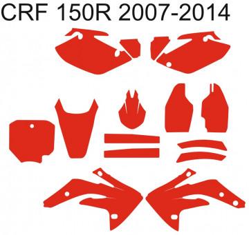 Molde - Honda CRF 150R  2007 2008 2009 2010 2011 2012 2013 2014