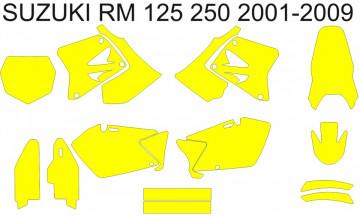Molde - SUZUKI RM 125 250 2001 2002 2003 2004 2005 2006 2007 2008 2009