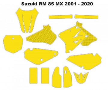 Molde - Suzuki RM 85 MX 2001- 2020