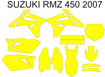 Molde - SUZUKI RMZ 450 2007