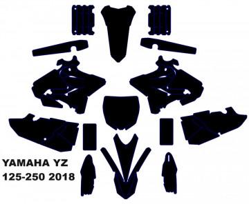 Molde - YAMAHA YZ 125-250 2018