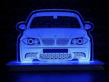 Moldura / Candeeiro com luz de presença - BMW Série 1 E81 E82 E87