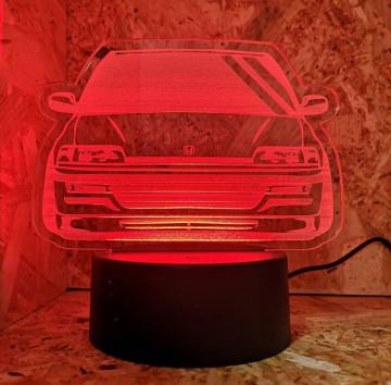 Moldura / Candeeiro com luz de presença - Honda Civic CRX