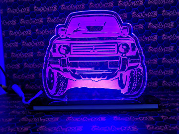 Moldura / Candeeiro com luz de presença - Mitsubishi Pajero