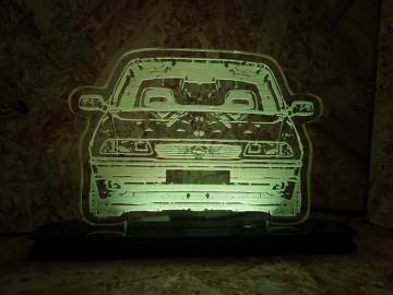 Moldura / Candeeiro com luz de presença - Opel Astra F