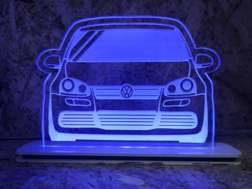Moldura / Candeeiro com luz de presença - Volkswagen Golf V (5)